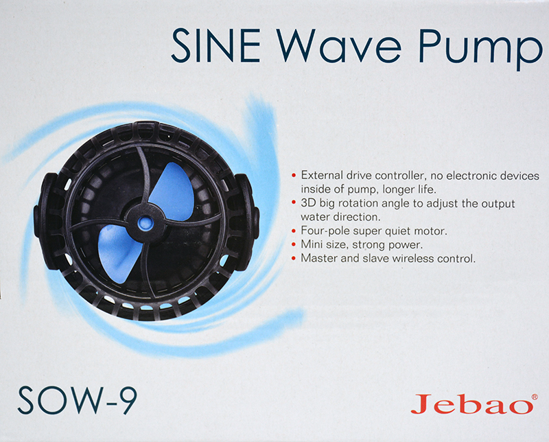 Jebao SOW-9 SINE Wavemaker Pump with Controller 2380gph