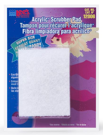 Lee's Fine Algae Scrubber Pad for Acrylic