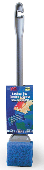Lee's Course Algae Scrubber with Handle, for Glass