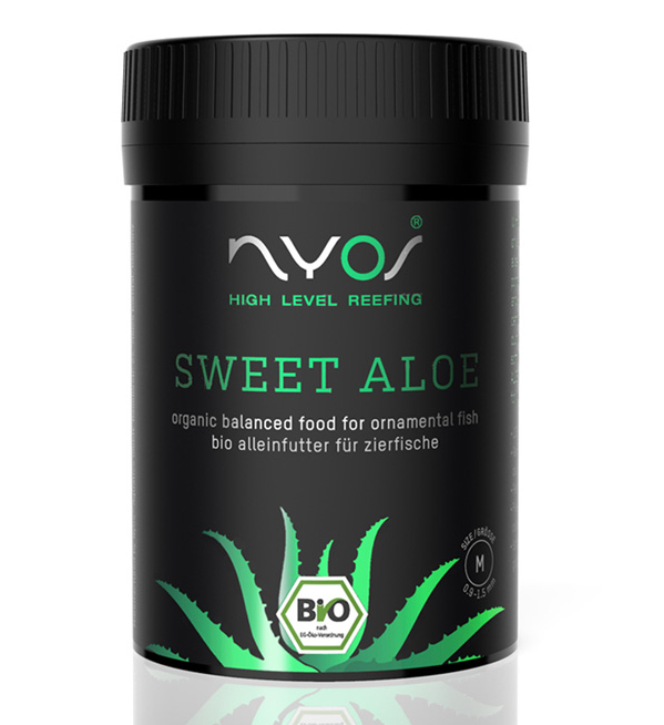 Nyos Sweet Aloe Fish Pellet 120ml (2.5oz)