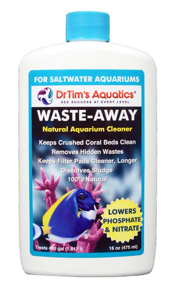 Dr. Tim's Waste-Away Natural Aquarium Cleaner Saltwater 16oz