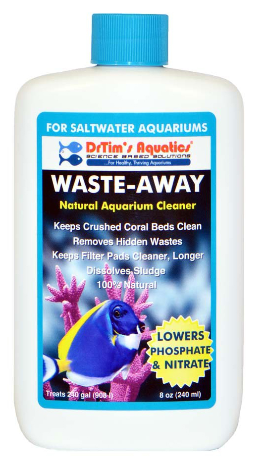 Dr. Tim's Waste-Away Natural Aquarium Cleaner Saltwater 8oz