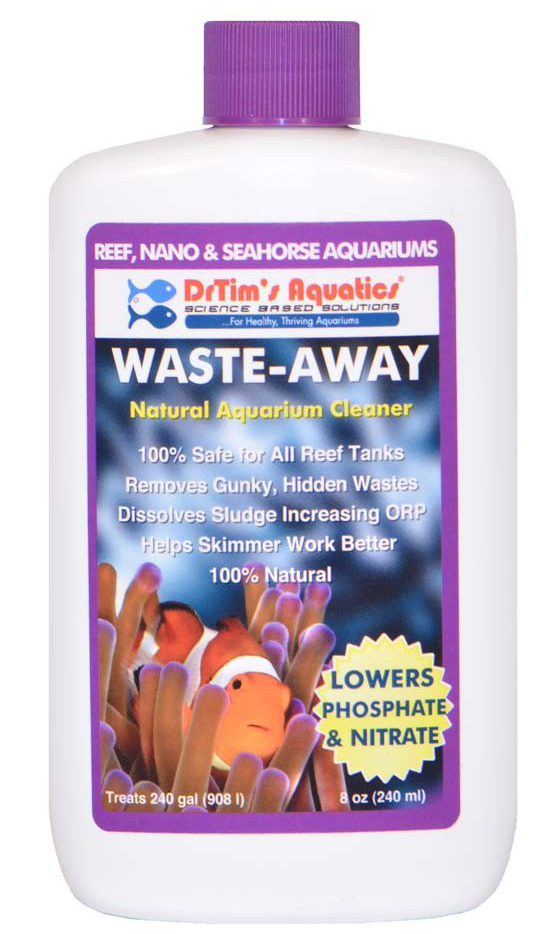 Dr. Tim's Waste-Away Natural Aquarium Cleaner for Reef Aquariums 8oz