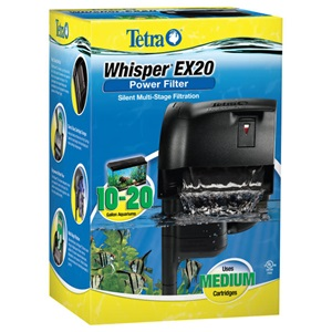 Tetra Whisper EX 20 Power Filter