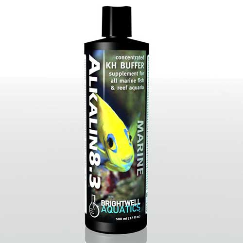Brightwell Aquatics Alkalin8.3 - Liquid pH Buffer & Alkalinity(KH)-Builder 500 ml / 17 fl. oz.