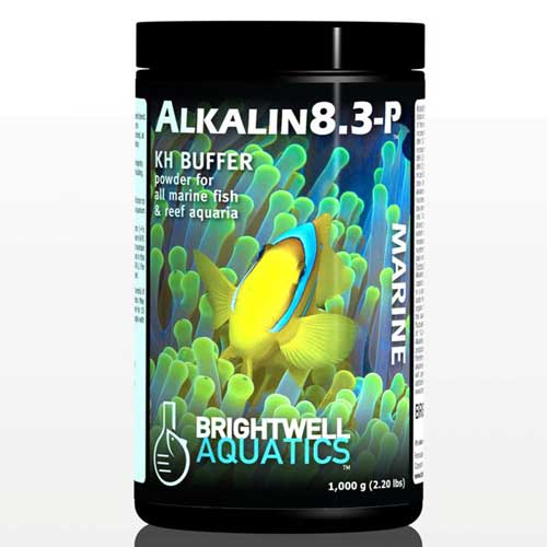 Brightwell Aquatics Alkalin8.3-P  - Dry pH Buffer & Alkalinity(KH)-Builder 250 g. / 8.8 oz.