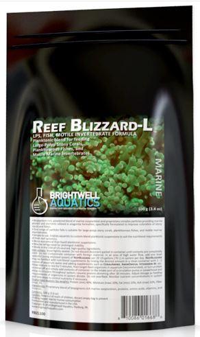 Brightwell Aquatics Reef Blizzard-L Planktonic Blend, 50g