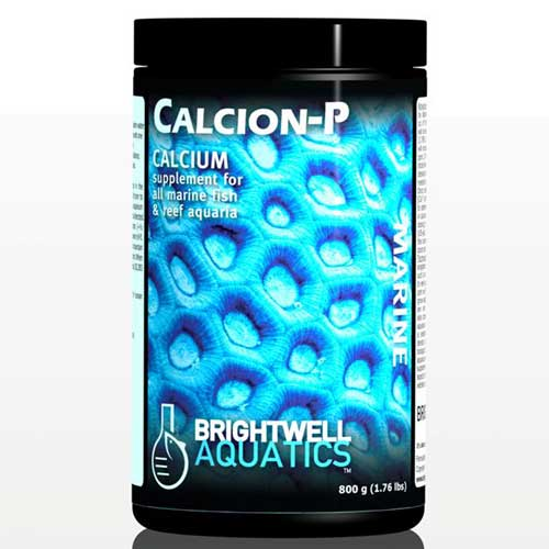 Brightwell Aquatics Calcion-P - Dry Calcium Supplement for Reef Aquaria 200 g. / 7.1 oz.