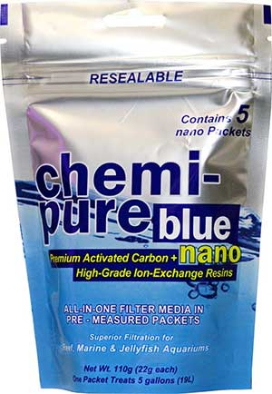 Boyd's Chemi Pure BLUE Filter Media Nano 5-Pack, 110g
