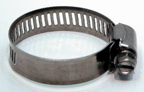 "1"" to 1.5"" Stainless Steel Hose Clamp"