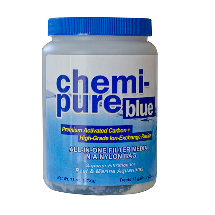 Boyd's Chemi Pure BLUE Filter Media in Nylon Bag, 11 oz.