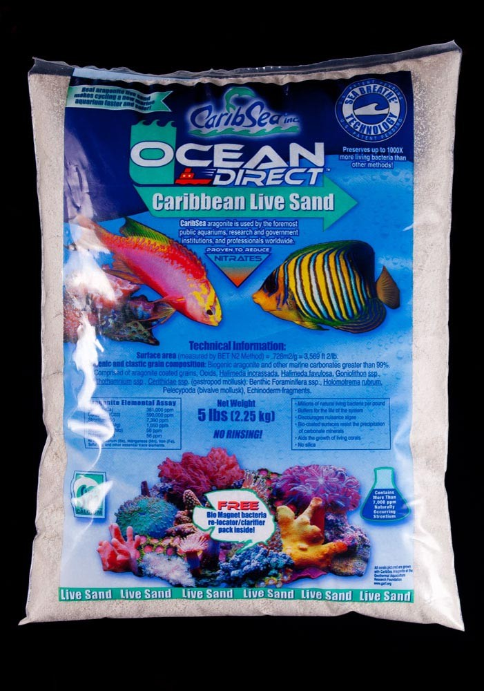 Carib Sea Ocean Direct Natural Live Sand 5lb