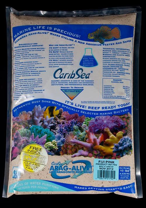 Carib Sea Arag-Alive Fiji Pink Sand 10lb