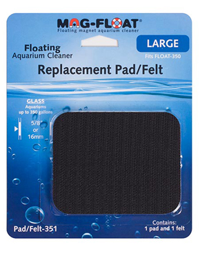 Mag-Float Replacement Pad & Felt, 350 Gallon Magnet