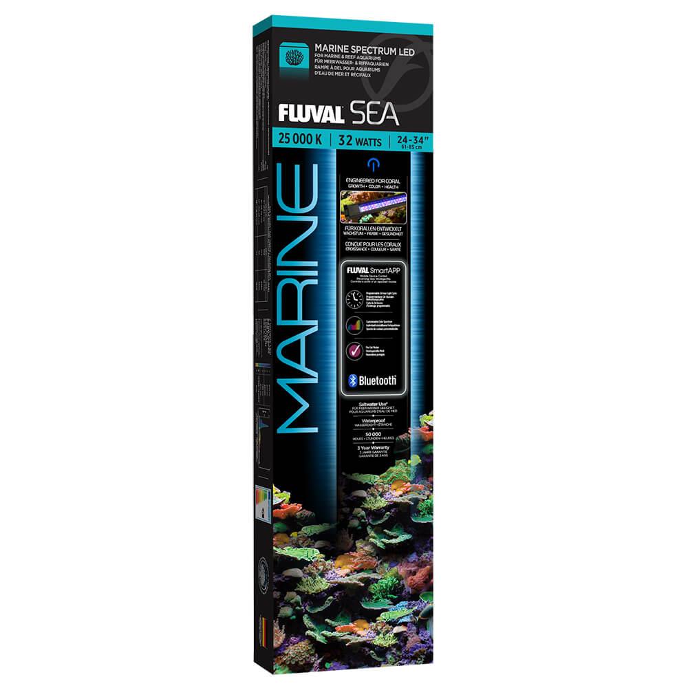 """Fluval 24"""" Marine 3.0 LED w/ BLUETOOTH, 32-Watts"""