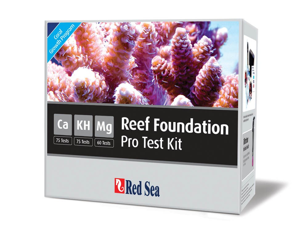 Red Sea Pro High-Accuracy Calcium Alkalinity and Magnesium Test Kit Combo
