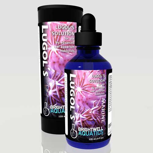 Brightwell Aquatics Lugol's Solution - Advanced Iodine for Reef Aquaria 30 ml / 1 fl. oz.