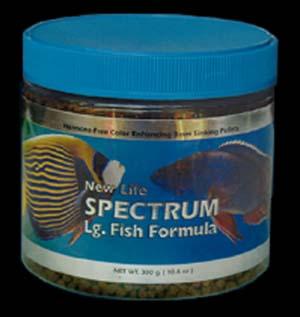 Spectrum Large Fish Formula 125gm (4.4oz)