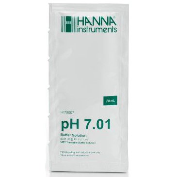Hanna pH 7.01 Calibration Buffer Sachet, 20 mL
