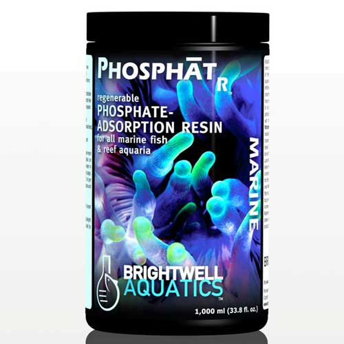 Brightwell Aquatics PhosphatR - Regenerable Phosphate-Adsorption Resin 1000 ml / 34 fl. oz.
