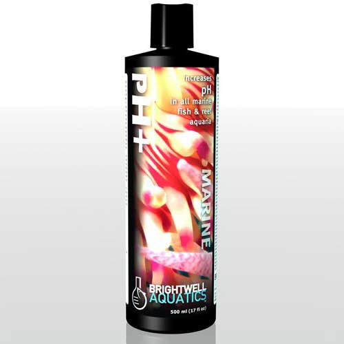 Brightwell Aquatics pH+ - Liquid pH-Increaser for all Marine Aquaria 500 ml / 17 fl. oz.