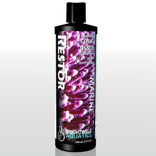 Brightwell Aquatics Restor - Liquid Coral Tissue Nutritional Supplement 250 ml /8.5 fl. oz.