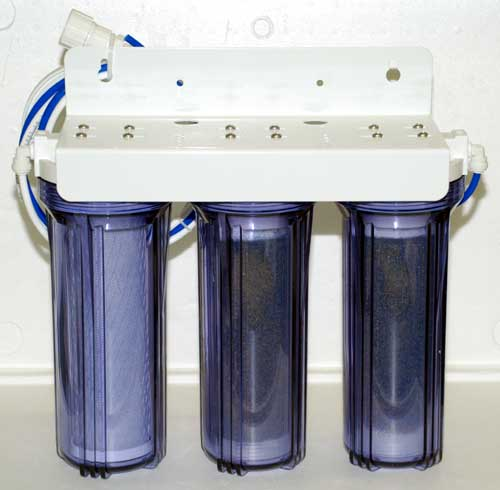 Eco-Pure 3-Stage Deionization Unit - NO WASTEWATER!
