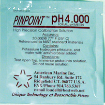 Pinpoint pH4 Calibration Solution