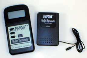 Pinpoint Wireless Thermometer W/ Sensor