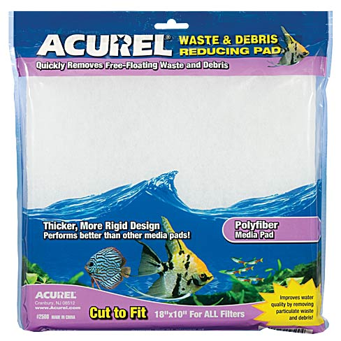 Acurel Waste & Debris Reducing Polyfiber Media Pad