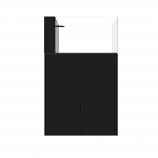 WATERBOX AIO PENINSULA 50.3 AQUARIUM - BLACK CABINET