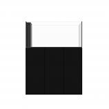 WATERBOX PENINSULA 4820 AQUARIUM - BLACK CABINET