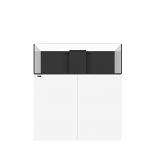 WATERBOX FRAG 105.4 AQUARIUM - WHITE CABINET