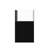 WATERBOX PENINSULA 3620 AQUARIUM - BLACK CABINET