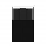 WATERBOX MARINE X 90.3 AQUARIUM - BLACK CABINET