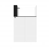 WATERBOX AIO PENINSULA 50.3 AQUARIUM - WHITE CABINET