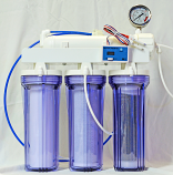 Eco-Pure 50GPD RO/DI Filter ***SAVE $50 Plus Get a FREE Dual TDS Meter***
