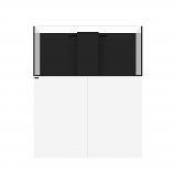 WATERBOX MARINE X 110.4 AQUARIUM - WHITE CABINET