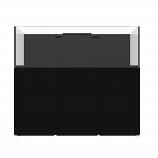 WATERBOX REEF LX 270.6 AQUARIUM - BLACK CABINET