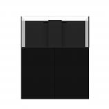 WATERBOX MARINE X 110.4 AQUARIUM - BLACK CABINET