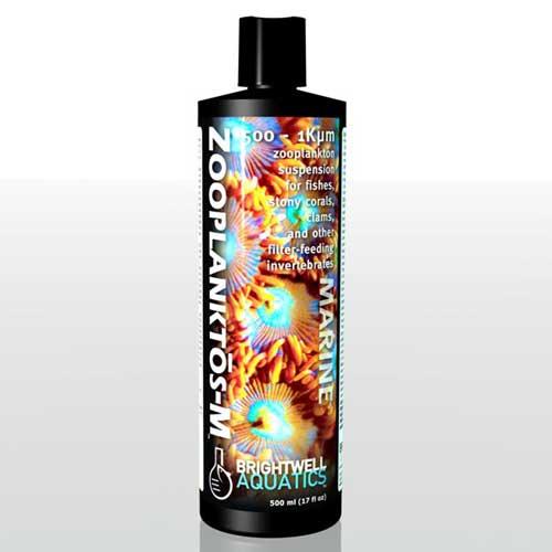 Brightwell Aquatics Zooplanktos-M - Zooplankton (Medium) 500-1K micron 250 ml /8.5 fl. oz.